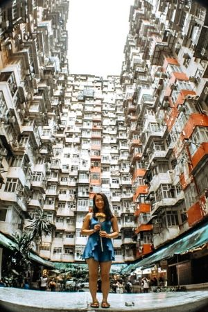 TFAS Asia student exploring the city through photography.